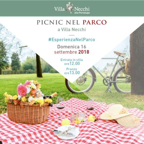 pic nic Villa Necchi