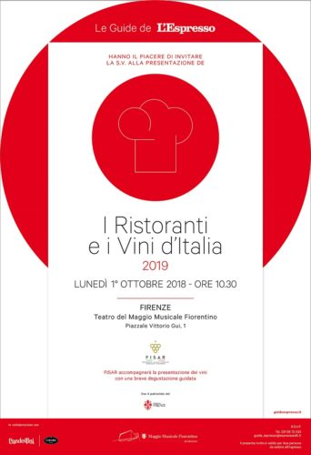 Guida Espresso 2019 - Villa Necchi tra gli invitati alla presentazione