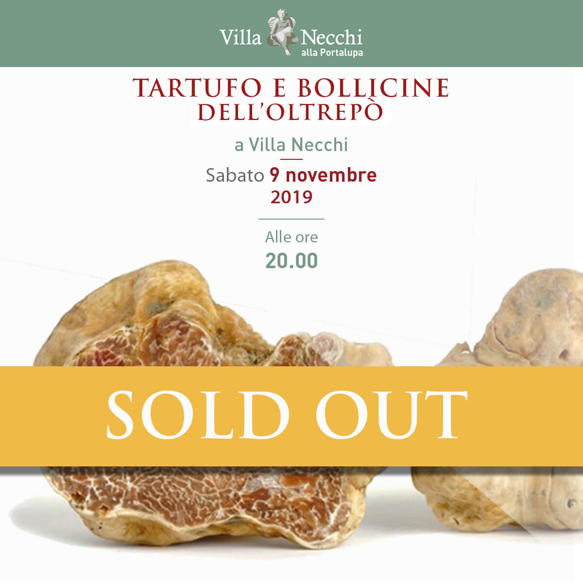 VN_post FB_bollicine_Tartufo_sold_out